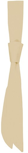 AK 3 Service Tie 94 x 5 cm - Cream - Stck