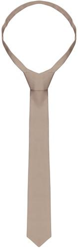 AK 4 Necktie 148 x 6,5 cm - Sand - Stck