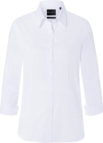 BF 10 Ladies' Blouse Classic with 3/4 Arm - White - Xs