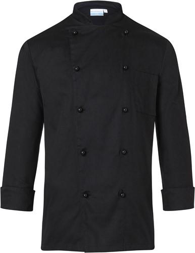 BJM 1 Chef Jacket Basic - Black - M