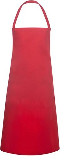 BLS 3 Bib Apron Basic 75 x 100 cm - Red - Stck