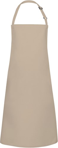 BLS 4 Bib Apron Basic with Buckle 75 x 90 cm - Sand - Stck