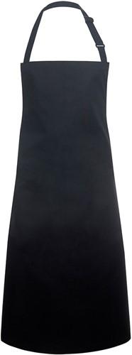 BLS 4 Bib Apron Basic with Buckle 75 x 90 cm - Black - Stck