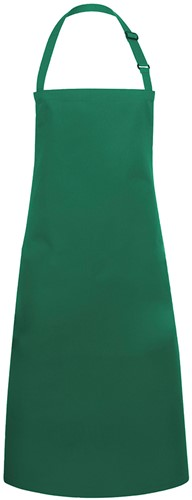 BLS 4 Bib Apron Basic with Buckle 75 x 90 cm - Forest green - Stck