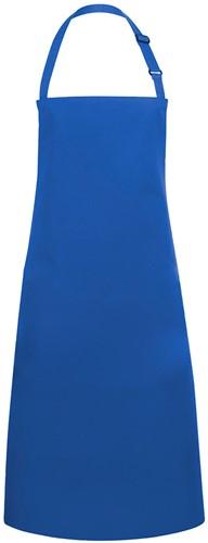 BLS 4 Bib Apron Basic with Buckle 75 x 90 cm - Blue - Stck