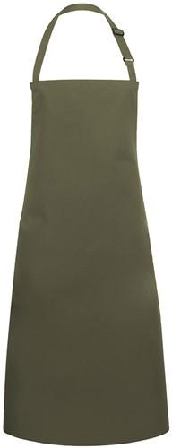 BLS 4 Bib Apron Basic with Buckle 75 x 90 cm - Moss green - Stck