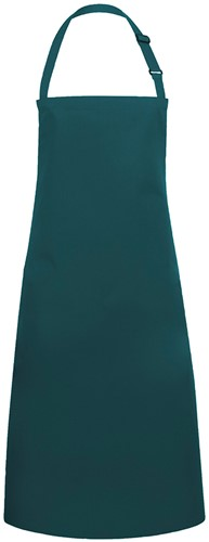 BLS 4 Bib Apron Basic with Buckle 75 x 90 cm - Pine green - Stck