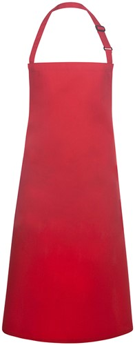 BLS 4 Bib Apron Basic with Buckle 75 x 90 cm - Red - Stck