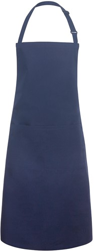 BLS 5 Bib Apron Basic with Buckle and Pocket 75 x 90 cm - Navy - Stck