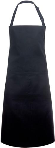 BLS 5 Bib Apron Basic with Buckle and Pocket 75 x 90 cm - Black - Stck