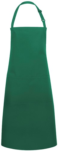 BLS 5 Bib Apron Basic with Buckle and Pocket 75 x 90 cm - Forest green - Stck