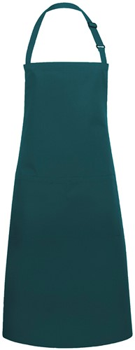 BLS 5 Bib Apron Basic with Buckle and Pocket 75 x 90 cm - Pine green - Stck