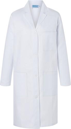 BMF 1 Ladies' Work Coat Basic - White - 2xl