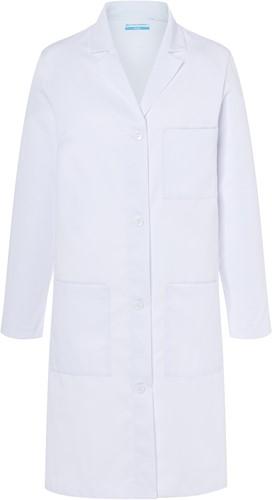 BMF 3 Ladies' Work Coat Basic - White - 2xl