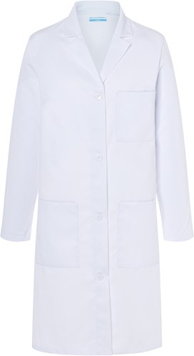 BMF 3 Ladies' Work Coat Basic - White - Xs
