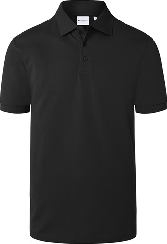 BPM 4 Men's Workwear Polo Shirt Basic - Black - 4xl