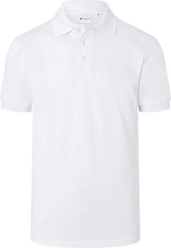 BPM 4 Men's Workwear Polo Shirt Basic - White - M