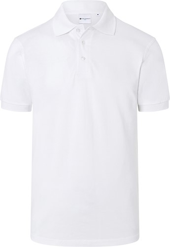 BPM 4 Men's Workwear Polo Shirt Basic - White - S