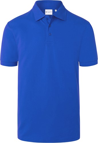 BPM 4 Men's Workwear Polo Shirt Basic - Blue - L