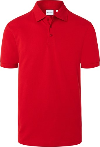 BPM 4 Men's Workwear Polo Shirt Basic - Red - S
