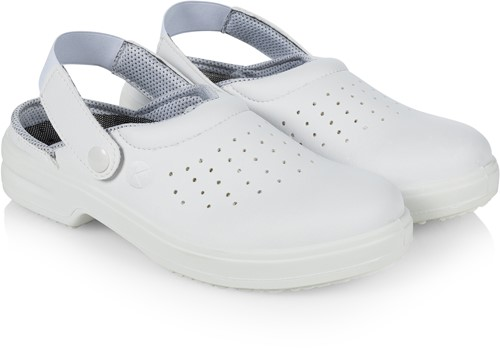 BS 21 Safety Shoe Oxford - White - 44