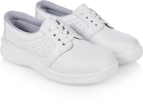 BS 32 Safety Shoe Usedom - White - 47