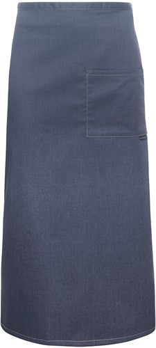 BSS 9 Bistro Apron Jeans-Style with Pocket 105 x 90 cm - Vintage black - Stck