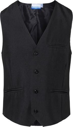 BWM 1 Men's Waistcoat Basic - Black - 3xl