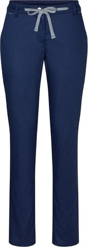 HF 8 Ladies' Chino Trouser Modern-Stretch - Navy - 42