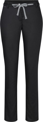 HF 8 Ladies' Chino Trouser Modern-Stretch - Black - 46