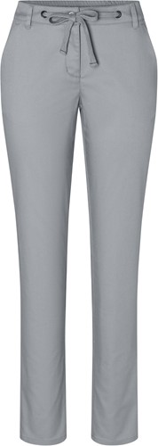 HF 8 Ladies' Chino Trouser Modern-Stretch - Steel grey - 48