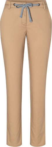 HF 8 Ladies' Chino Trouser Modern-Stretch - Sahara - 44