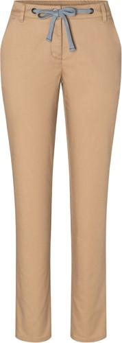 HF 8 Ladies' Chino Trouser Modern-Stretch - Sahara - 48