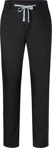 HM 10 Men's Chino Trouser Modern-Stretch - Black - 48