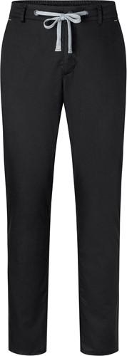 HM 10 Men's Chino Trouser Modern-Stretch - Black - 64