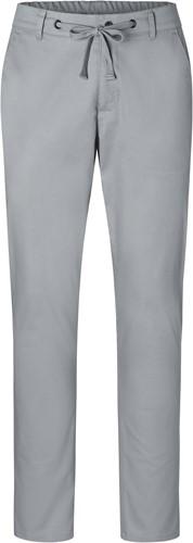 HM 10 Men's Chino Trouser Modern-Stretch - Steel grey - 52