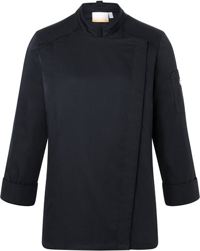 JF 17 Ladies' Chef Jacket Naomi - Black - 50