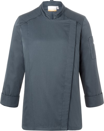 JF 17 Ladies' Chef Jacket Naomi - Anthracite - 38