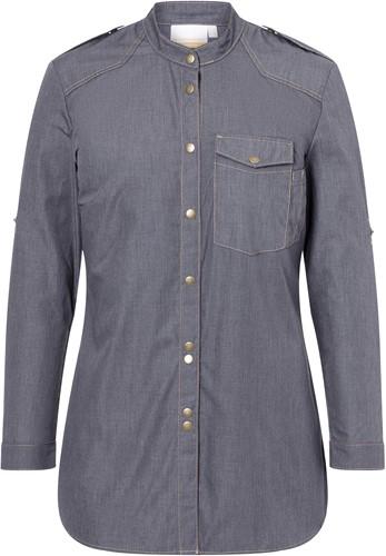 JF 18 Ladies' Chef Shirt Jeans-Style - Vintage black - 40