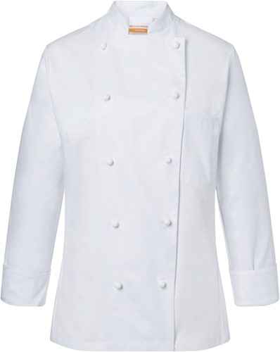 JF 1 Ladies' Chef Jacket Agathe - White - 46