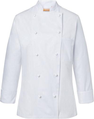 JF 1 Ladies' Chef Jacket Agathe - White - 50