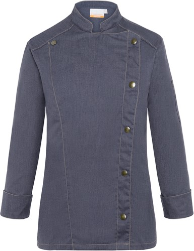 JF 20 Ladies' Chef Jacket Jeans-Style - Vintage black - 44