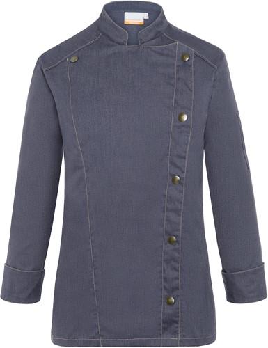 JF 20 Ladies' Chef Jacket Jeans-Style - Vintage black - 48