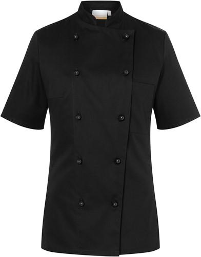 JF 2 Ladies' Chef Jacket Pauline - Black - 44