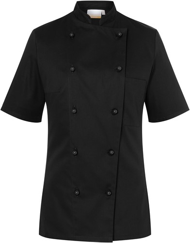 JF 2 Ladies' Chef Jacket Pauline - Black - 46