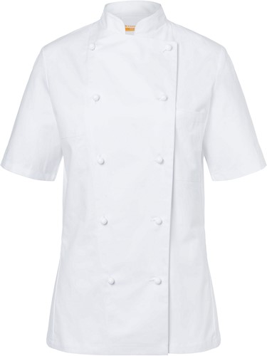 JF 2 Ladies' Chef Jacket Pauline - White - 46