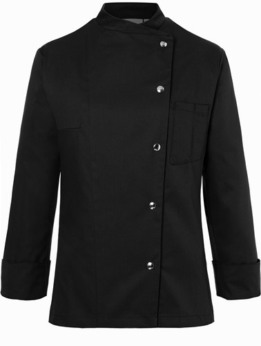 JF 3 Ladies' Chef Jacket Larissa - Black - 38