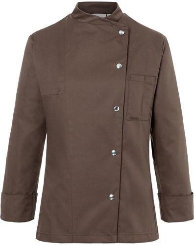 JF 3 Ladies' Chef Jacket Larissa - Light brown - 44
