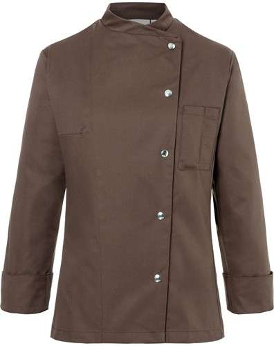JF 3 Ladies' Chef Jacket Larissa - Light brown - 46