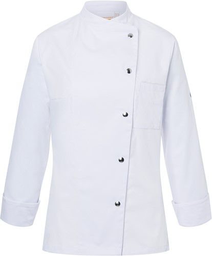 JF 3 Ladies' Chef Jacket Larissa - White - 34
